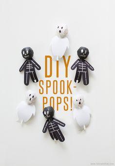 DIY Spook-Pops! // fellow fellow