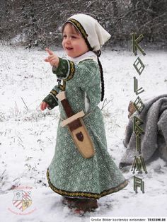 Jealous of this wee girl's garb!