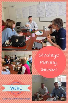 WERC is facilitating a Strategic Planning session today for The Family Pantry of Cape Cod helping them set attainable goals for the next 3-5 years. #strategicplan #capecod