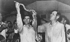 Pentacostal snake handling.