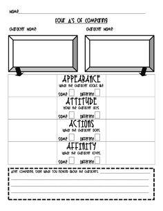 The Go To Teacher: Compare/Contrast ORGANIZER