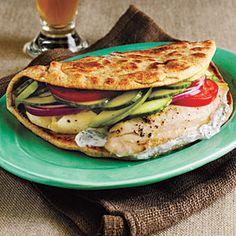 Top-Rated Tilapia Recipes | Broiled Tilapia Gyros | CookingLight.com