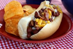 Mommy's Kitchen: Cheddar Chili Dogs {Kid Friendly}