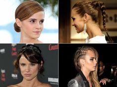 Te explicamos paso a paso cómo hacerte la trenza lateral de Cara Delevigne, la trenza alta de Paula Echevarría, el moño pulido de Emma Watson...