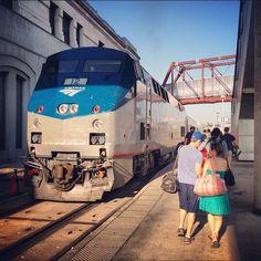 Amtrak's Missouri River Runner trains travel between St. Louis and Kansas City