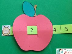 Wormy Apple Counting Strips