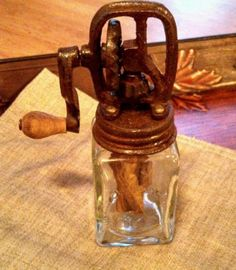 Salesman Sample Dazey Butter Churn *Collectible Antique*   Is this for real?