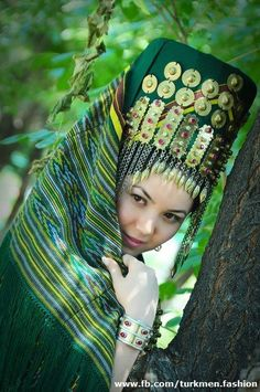 Turkmenistan Traditional Clothing hides and protects the beauty of these people who respect the inner person with outer displays of the true majesty within.