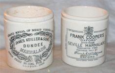 Vintage ANTIQUE Victorian Dump Dig Finds London UK Marmalade Pot Dundee Seville
