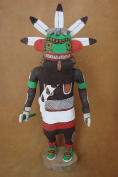 Hopi Indian Hand Carved Sand Snake Kachina by D Adams Hopi Pueblo | eBay
