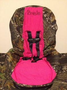car seats, car seat covers, babi, first birthdays, pink toddler, toddler car seat cover, mossy oak, kid, mossi oak
