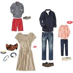 Family outfit 2 by brittanymang, via Polyvore
