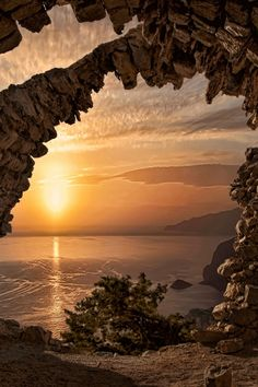 Sunset from the Castle of Monolithos by Dimitris Koskinas on 500px