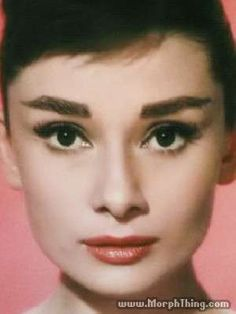 1957 Funny Face makeup.  Those are some serious eyebrows.  Nice colors.