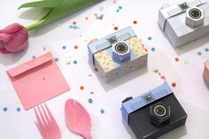 4 Paper Cameras - Printable PDF - TOUGHIE Cameras (Includes all 4 colours)  $4.00 AUD  96 available  Approximately $4.26 USD