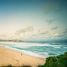 Bondi Beach Sydney Australia. Almost made it here. I'll just have to go back