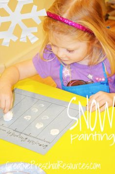 Snowflake Counting & Stamping
