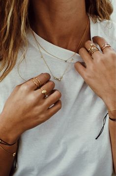 Rings | Necklaces | Bracelets | Jewelry | Inspiration | More on Fashionchick