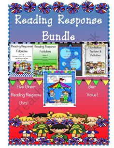 Reading Response Bundle from Mrs. Wyatt's Wise Owl Teacher Creations on TeachersNotebook.com -  (89 pages)  - This Reading Response Bundle includes 5 units: Reading Response Foldables, Reading Response Foldables Volume 2, Reading Response Booklets, Nonfiction Posters & Foldables, and Graphic Organizers Volume