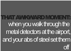 This happens to me every time I travel. NOT!