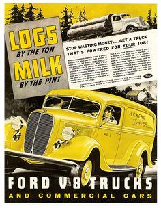 Ford V-8 Trucks 1937