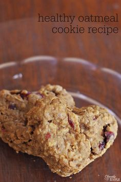 Healthy Oatmeal Cookie Recipe with NO eggs!  Step by step directions on how to use flax seed instead! flax seed, egg