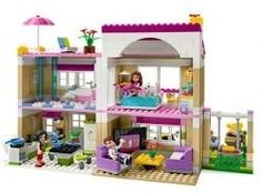 How to Build a LEGO Friends Dollhouse