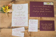 wedding invitation @