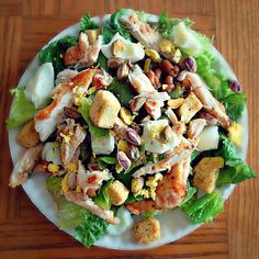 pistachio chicken salad!
