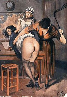http://www.fetishpopculture.com/spanking-domestic-discipline/Georges-Topfer-Flagellation-Corporal-Punishment-Art.jpg