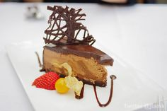 Double Belgian Chocolate Truffle Cake from the Teahouse in Stanley Park, Vancouver, BC, Canada