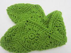 Granny Square Slippers  Women's Size Medium by crochetedbycharlene, $14.00