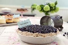 Blueberry Jamboree Pie: Recipes: TLC