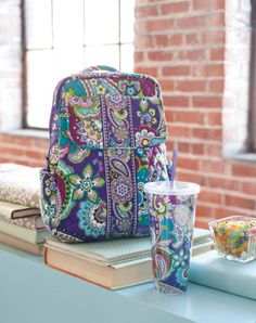 In love with this Vera Bradley print More