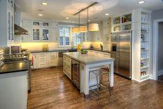 interior, open shelves, kitchen idea, contemporary kitchens, marker, cabinet, dream kitchen, kitchen design, island
