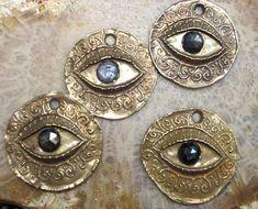 ~Bronze Protection Eyes... by Cynthia Thornton