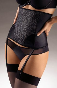 Chantelle Sexy Shaping Waist Cincher 3785 - Chantelle Shapewear #herroom #lace