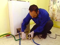 HOW TO INSTALL A NEW WATER HEATER - Learn how to remove an old water heater, install a new one and hook it into the pipes with these basic steps from plumbing experts.