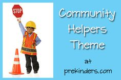 community helpers theme- game: stay low and go.... use blanket or paper for flames.... teach children to stay low.