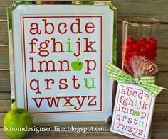 alphabet i love you