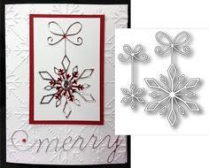 Precious Snowflakes by Memory Box