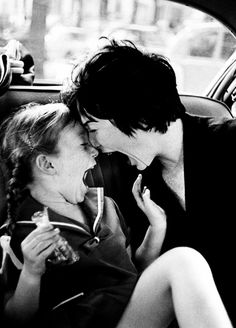 Shirley MacLaine and her daughter, Sachi