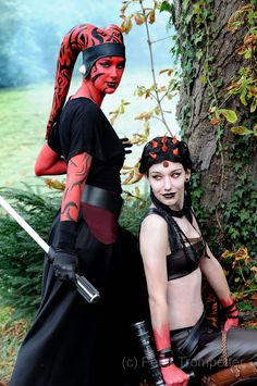 Sith Twi'lek, and Zabrak. (I believe a Twi'lek is like the dancing girl Oola in Jabba's palace.  I don't know what a Zabrak is. ~n)