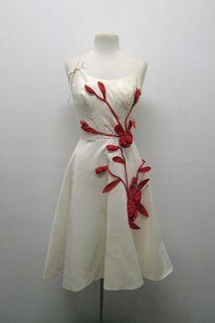 1950's Embellished Evening Dress