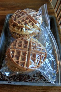 4 Weeks to Fill Your Freezer: Waffles (Day 3)