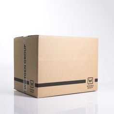 Corrugated box with