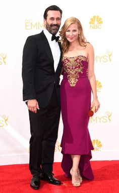 Jon Hamm: You are perfect that's all bye. #Emmys