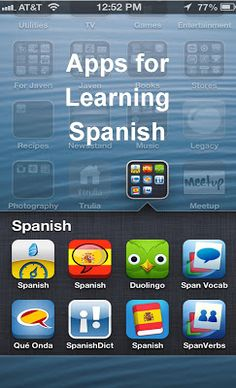 Apps for learning Sp