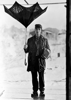 Buster Keaton & Umbrella