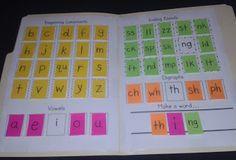 Making Words Folders (DIY)